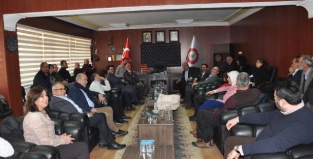 17 Ocak CHP Odunpazarı İlçe Örgütü Ziyaretimize geldiler.