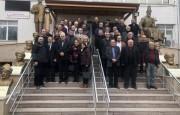 17 Aralık Tepebaşı Bel. Başkanı Dr. Ahmet Ataç ve Meclis Üyeleri ziyaretimize geldiler.